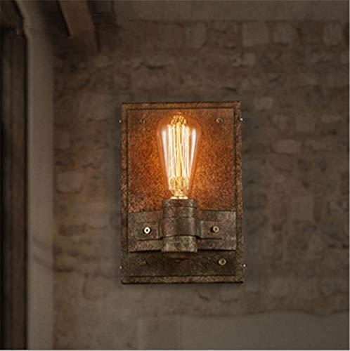 YLCJ Wandleuchte Wandleuchte Moderne Industrie Retro Loftlampe Kreative Wandleuchte Rustikale Eisen Wandleuchte mit E27-Fassung für Restaurant Dekoration Bar (ohne Lampen)