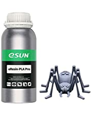 eSUN Plant-based Pro Fast Resin for 3D Printers, LCD UV Curing 405nm Resin High Precision Biodegradable PLA Photopolymer Resin for Monochrome Screen 3D Printing Liquid 3D Printing Materials