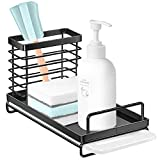 Nieifi Sink Caddy Organizer with Removable Drip Tray, Rust Proof...