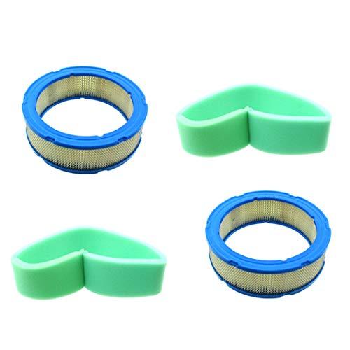 XLYZE Luftfilter Vorfilter 2 Sets für Briggs & Stratton 394018 392642 4135 5050B 5050H 272490S 271271 Toro 394018S