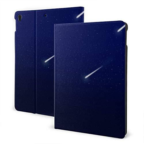 AlAlAl Kid iPad Case 2019 iPad Air3/2017 iPad Pro 10.5 Inch Case/2019 iPad 7th 10.2 Inch Case Night Blue Sky Tree Of Meteor Galaxy Mountain Cool iPad Covers Auto Wake/sleep