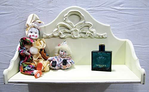 ARREDO SELLI Étagères en Bois Blanc avec décoration
