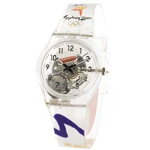 1999Swatch Reloj Glorioso Runner olímpico gk295Especial.