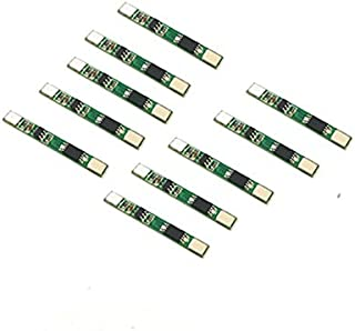10pcs 1S 3.7V 2.5A 18650 Lithium Battery Protection Board BMS PCM PCB Polymer Over Charge Discharge Li-ion Protect Module
