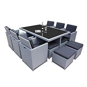 Ragnarök-Möbeldesign PolyRattan - DEUTSCHE Marke - EIGNENE Produktion - 8 Jahre GARANTIE auf UV-Beständigkeit…