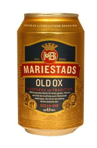 Mariestads Old Ox 6,9% 24x0,33 ltr. inkl. Pfand