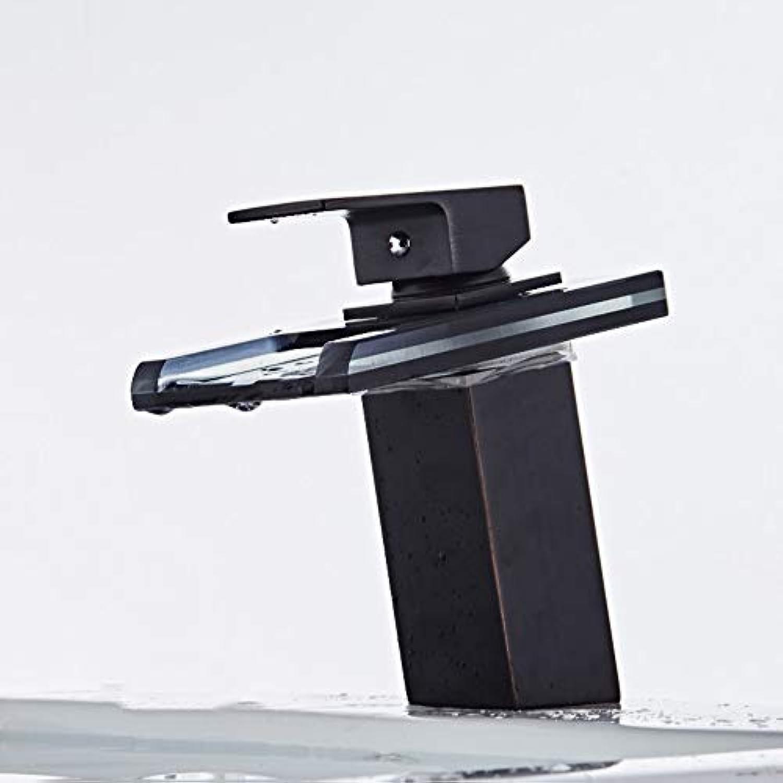 Floungey BadinsGrößetionen Waschtischarmaturen Küchenarmaturen Bunte Led Wasserhahn Intelligente Temperaturregelung Farbe ndernden Wasserhahn Wasserfall Wasserhahn Becken Wasserhahn