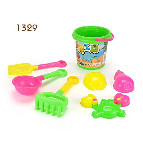 pinshun Juego para niños Juguetes de Playa Juguetes de Playa Juguetes para bebés, niños, Pala, Barril @ 1329 Juguetes de Arena de Playa