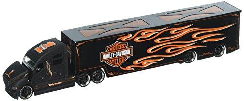 Maisto 1:64 Harley-Davidson Custom Hauler with Flame Decal