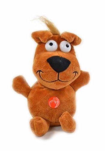Laberhund Liki inkl. Batterien mit Sprachaufzeichnung und Wackelkopf + Demofunktion
