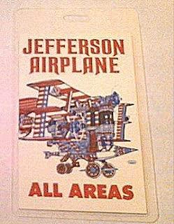 1989 Jefferson Airplane Laminated Backstage Pass