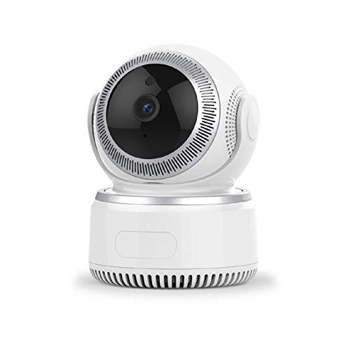 XJJZS 1080P cámara Pan/Tilt IP inalámbrica WiFi, Cámara de Seguridad de la vigilancia de vídeo con Audio bidireccional, visión Nocturna for el bebé/Elder/Animal/niñera/Office Monitor