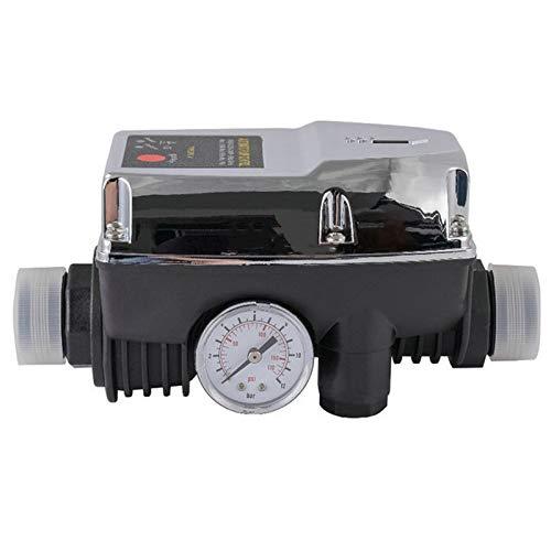 Nirmon Controlador de Arranque de Refuerzo de PresióN de Agua Tubo Ajustable de 1 Pulgada Control AutomáTico de Bomba en Interruptor de Flujo MáSico Apagado 220V