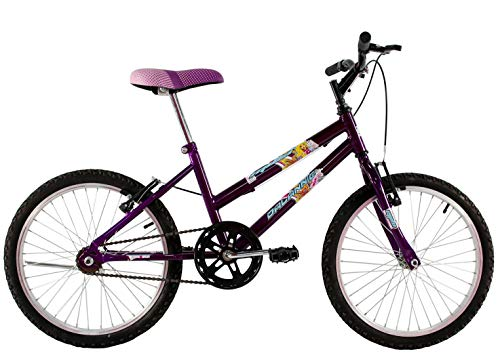 Bicicleta Infantil Aro 20 Feminina Milla Roxa