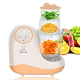 Baby Food Maker Chopper Grinder - Mills and Steamer 8 in 1 Processor for Toddlers - Steam, Blend,...
