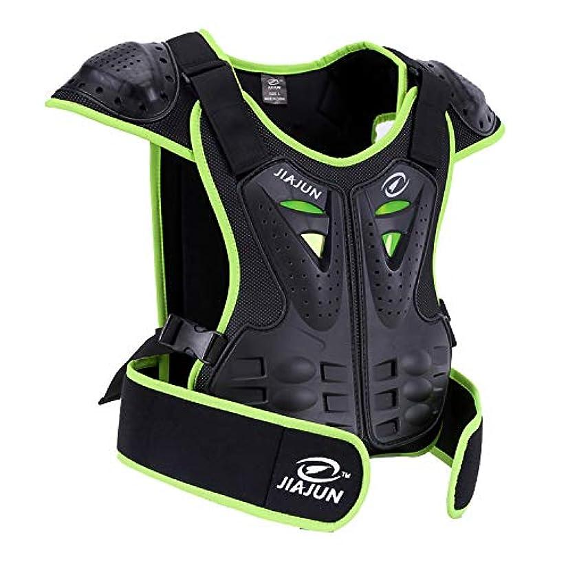 JIAJUN Children Bicycle Motorcycle Armor Armor Vest Back Protector Men's Armored Street Racing Motorcycle Jacket