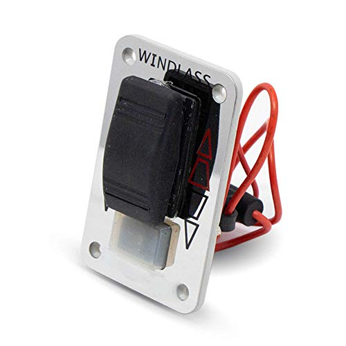 Five Oceans Reversing Solenoid Dual Direction Control Box for 3-Wire Motors Windlass 12V FO-3293-1