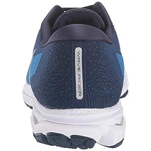Mizuno Men's Wave Rider 23 WAVEKNIT Running Shoe, Campanula-Vapor Blue, 8 D