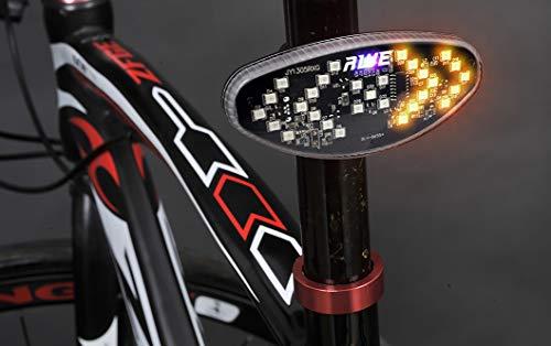 AWE 29 LEDs Clignotant de vélo/lumière arrière sans Fil télécommandé