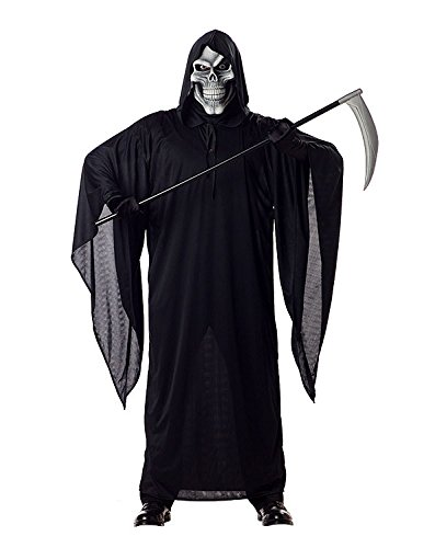 Costume le Faucheur de la Mort T M noir