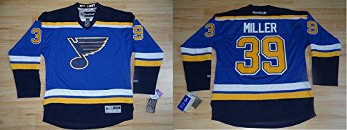 Reebok NHL Eishockey Trikot St. Louis Blues Ryan Miller #30 Jersey Premier (L)