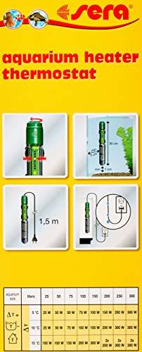 sera 8740 Regelheizer 200W (für 200 Liter) Qualitätsheizer mit schockresistentem Quarzglas, Präzisions-Sicherheitsschaltung und Sicherheits-Protector - 3