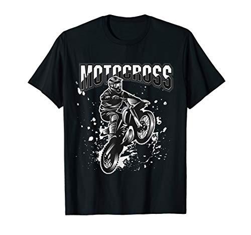 Retro Vintage Biker Motocross Motorcycle Bike Motorräder T-Shirt
