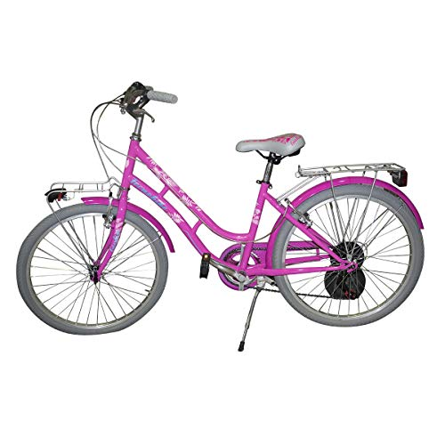 Mediawave Store - Bicicletta TECNOBIKE NSR 24' modello GIULIA cambio SHIMANO ART 891 telaio steel,...