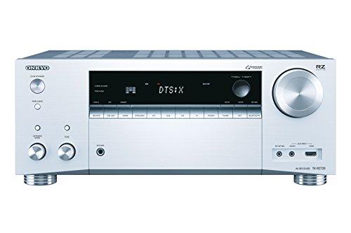 Onkyo Europe Electronics TX-RZ720-S Multiroom-fähiger 7.2-Kanal Audio/Video Neztwerk-Receiver mit 165W Pro-Kanal Silber