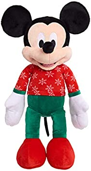 Disney Mickey (or Minnie) Mouse 2020 Large Holiday Plush