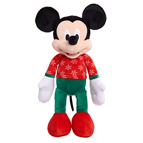 Disney Mickey Mouse 2020 Large Holiday Plush  $9.99 at Amazon