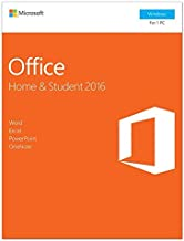 Office Home and Student 2016, License in Box, 1 User, PC