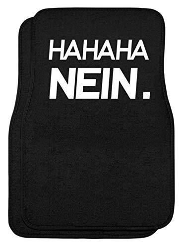 Generieke HAHAHA Nee! Grappig sarkasme motief - eenvoudig en grappig design - automatten