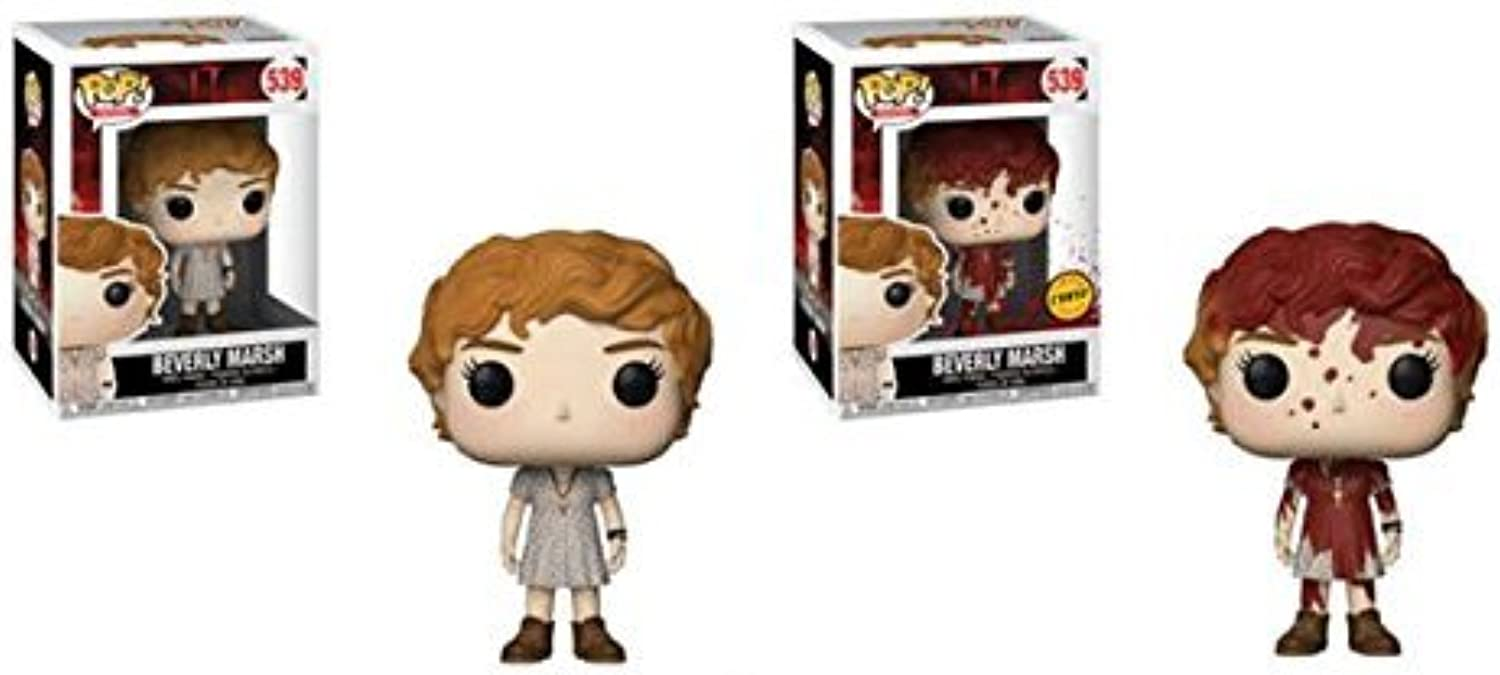 Funko Pop Movies  IT Beverly with Key Necklace Regular & Chase (2 Pack)