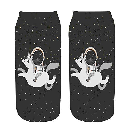NANAYOUPIN 5 paar alles wat je hoeft te doen, is Swag 'Letter Printed Women Socks 3D-design gedrukt grappige sokken polyester mode 19 * 8 cm sokken