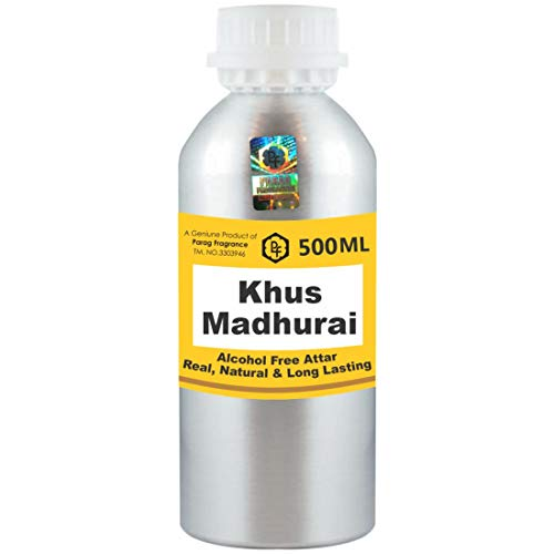 Photo of Parag Fragrances Khus Madhurai Attar 500ml Wholesale Pack Attar (Alcohol Free, Long Lasting Attar For Men – Women & Religious Use) Worlds Best Attar | Itra | Fragrance Oil | Scent