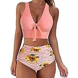 Traje de Baño Bikini Mujer 2021 Bikinis Sexy Push up Sujetador para Mujer Moda Talle Alto Retro Bañador Bikini Sets Talla Grande Traje de Baño Ropa de Playa Fiesta