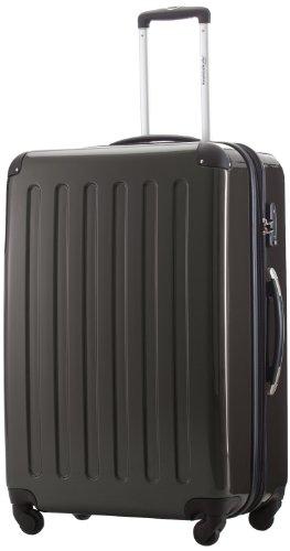 HAUPTSTADTKOFFER - Alex- Luggage Suitcase Hardside Spinner Trolley 4 Wheel Expandable, 75cm, TSA, graphite
