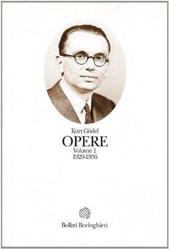Opere. 1929-1936 (Vol. 1)