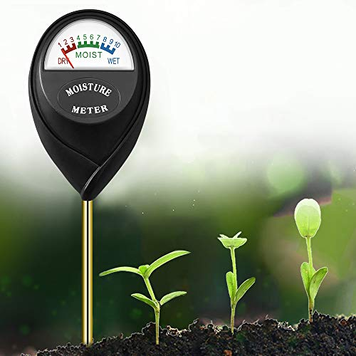 OTTOPT Soil Moisture Meter Sensor, Agricultural Soil Moisture Meter Tester Suitable for Indoor and Outdoor Plants, Farm, Lawn - No Batteries Required