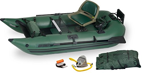 Sea Eagle 285 Inflatable Frameless Fishing Pontoon Boat - Pro Package