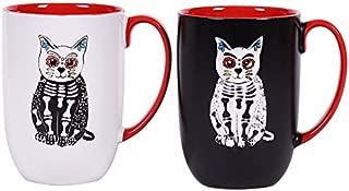 Blue Sky Ceramic 7848 Sugar Cat Mug 1, 16 oz, Multicolor