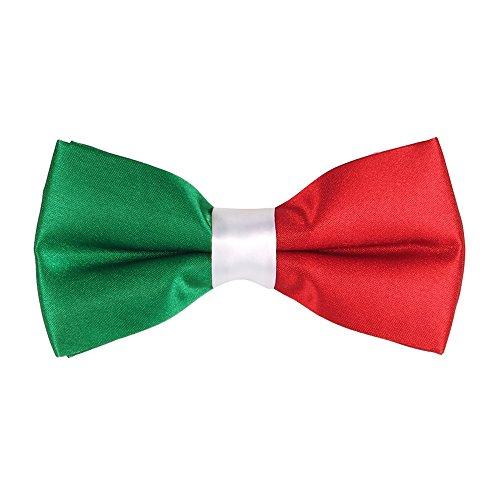 cravateSlim Fliege Italienische Flagge - Flagge Italien