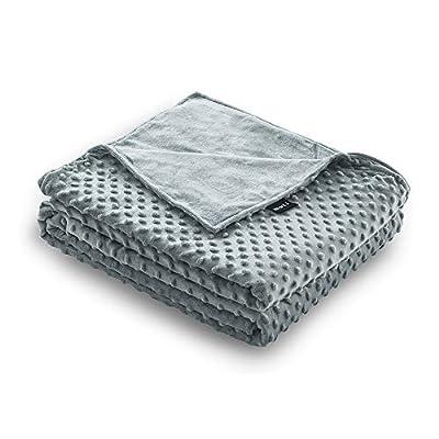 ZonLi 48''x72'' Grey/Grey Minky...