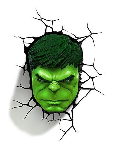 Cooler Kitchen Marvel 3D Wandleuchte Hulk Avengers 4 Neuheit Wandleuchte
