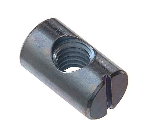 POPESQ/® x M5 Tuerca//Nut Acero Galvanizado Steel 20 Piezas//pcs Zinc #A1903