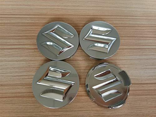 4 unids / Lote 54mm Cubierta de Cubo Central de Rueda de Coche Tapas Emblema Insignia para Suzuki Stying