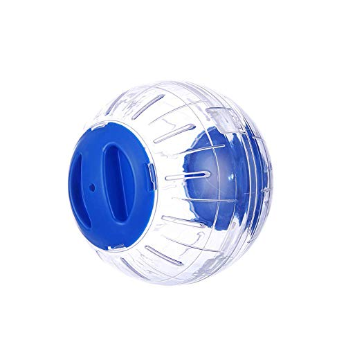 Beito 1PC Hamster Running Ball Animal Jogging Sport Toy Pet Exercise Spinner Toy Mouse Running Ball(Blue)