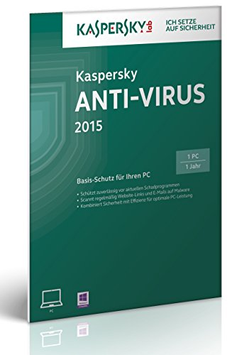 Kaspersky Anti-Virus 2015 - 1 PC [import allemand]