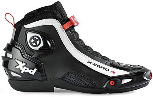 XPD Motorrad Stiefeln X-Zero R, Black, Größe 39